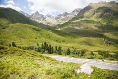 Alta via alpina di Silvretta Immagini Stock Libere da Diritti