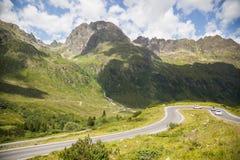 Alta via alpina di Silvretta Fotografie Stock Libere da Diritti