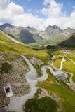 Alta via alpina di Silvretta Fotografia Stock Libera da Diritti