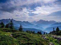 Alta Via-dei Pastori - Dolomiet - Italië Stock Foto's