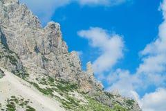 Alta Via in dolomia Fotografie Stock