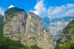Alta Via in Dolomites Stock Images