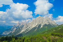 Alta Via in Dolomites Royalty Free Stock Photos