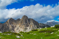Alta Via in Dolomites Royalty Free Stock Images