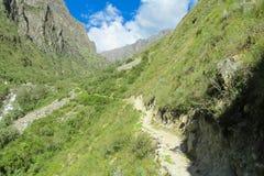 Alta Via en dolomites Photographie stock libre de droits