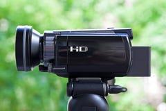 Alta videocamera portatile di definizione Fotografia Stock