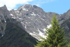 Alta vista alpina Fotografia Stock
