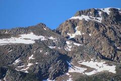 Alta vista alpina Fotografia Stock Libera da Diritti