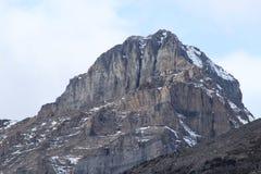 Alta vista alpina Immagini Stock