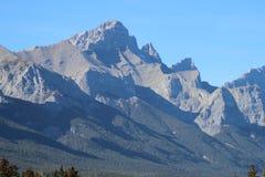 Alta vista alpina Fotografie Stock