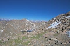 Alta vista alpina irregolare Immagini Stock Libere da Diritti