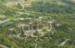 Alta vista botanica del giardino dalla baia Immagine Stock Libera da Diritti