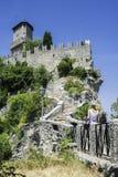 Alta vista da San Marino Fotografie Stock Libere da Diritti
