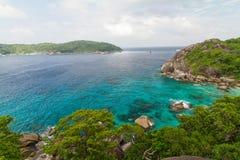 Alta vista dalle isole Fotografia Stock Libera da Diritti