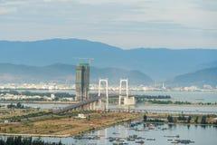 Alta vista del inVietnam della città di Da Nang Immagine Stock Libera da Diritti
