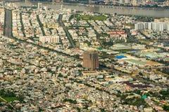 Alta vista del inVietnam della città di Da Nang Immagini Stock