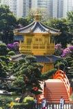 Alta vista del jardín Foto de archivo libre de regalías