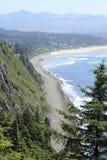 Alta vista del litorale dell'Oregon Fotografia Stock Libera da Diritti
