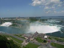Alta vista del Niagara Falls Fotografia Stock