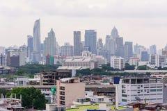 Alta vista della città Fotografia Stock Libera da Diritti