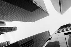 Alta vista della città di aumento Fotografie Stock