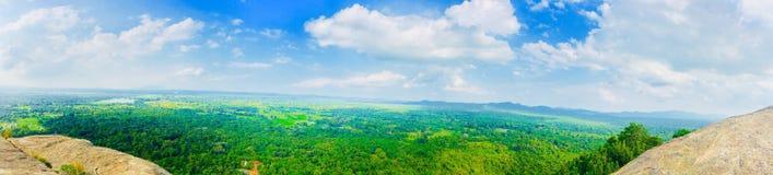 Alta vista della montagna Fotografie Stock