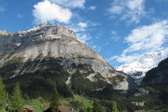 Alta vista della montagna Fotografia Stock Libera da Diritti