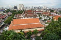 Alta vista di Bangkok Immagini Stock