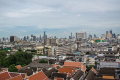 Alta vista di Bangkok Immagine Stock