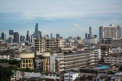 Alta vista di Bangkok Fotografia Stock Libera da Diritti