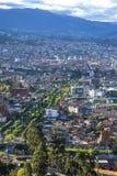 Alta vista di Cuenca Fotografia Stock