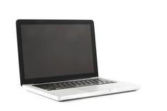 Alta vista di definizione di un computer portatile di progettazione Immagine Stock