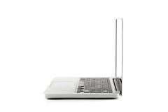 Alta vista di definizione di un computer portatile di progettazione Immagini Stock Libere da Diritti