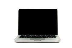 Alta vista di definizione di un computer portatile di progettazione Fotografia Stock