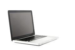 Alta vista di definizione di un computer portatile di progettazione Immagini Stock