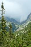 Alta vista di estate di Tatras (Slovacchia). Fotografia Stock Libera da Diritti