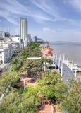 Alta vista di Guayaquil Immagine Stock Libera da Diritti