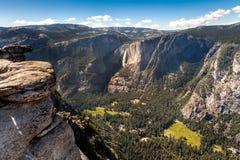 Alta vista di Yosemite Fotografia Stock