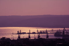 Alta vista generale di Varna, Bulgaria nel bello giorno Fotografie Stock Libere da Diritti