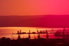 Alta vista generale di Varna, Bulgaria nel bello giorno Fotografie Stock