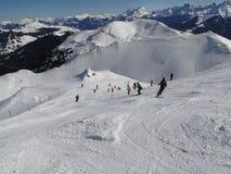 Alta zona alpina del pattino Fotografia Stock Libera da Diritti