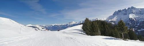 Alta zona alpina del pattino Immagini Stock Libere da Diritti