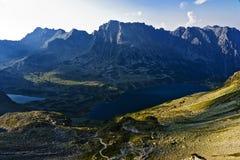 Alta zona di Tatras Immagini Stock