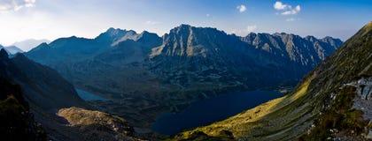 Alta zona di Tatras Fotografia Stock Libera da Diritti