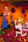 Altaar DE muertos royalty-vrije illustratie