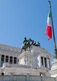 Altaar van het Vaderland, Italië Royalty-vrije Stock Foto's