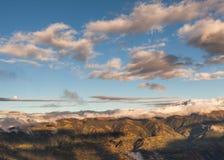 Altaarvulkaan, de bergen van Zuid-Amerika, de Andes Stock Afbeeldingen