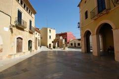 Altafula-Dorf Stockbild