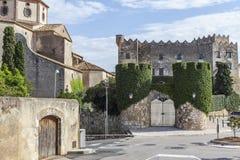 Altafulla, Costa Daurada, Catalogna, Spagna Immagine Stock