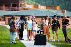 Altai, Ρωσία †«στις 8 Αυγούστου 2018: στοκ εικόνες
